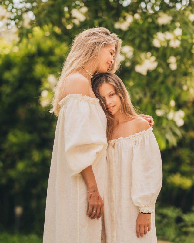 Віра привітала свою доньку з днем народження
