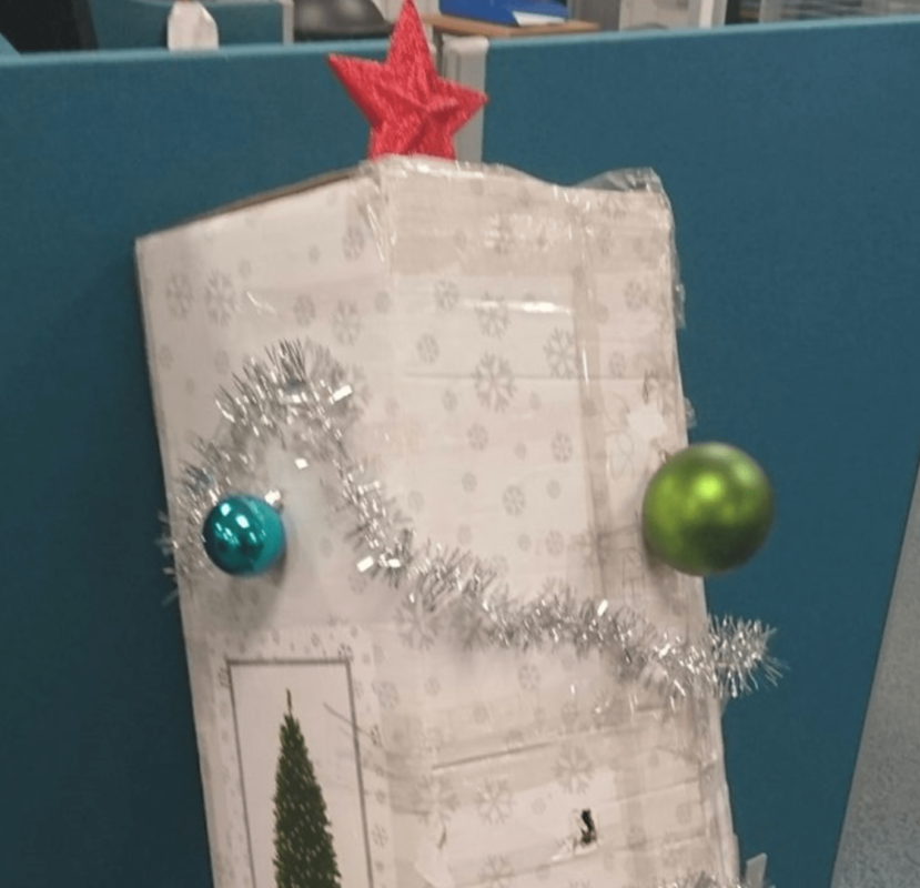 Справжня новорічна ялинка