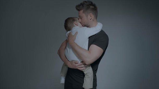 Сергій Лазарев з сином