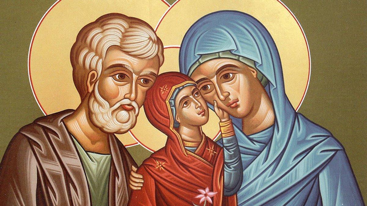 Анна з Йосипом та Марією