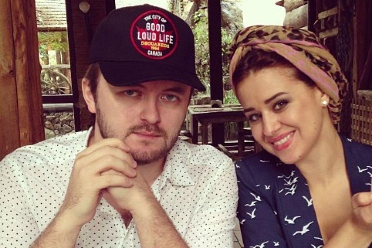 DZIDZIO з дружиною Ярославою