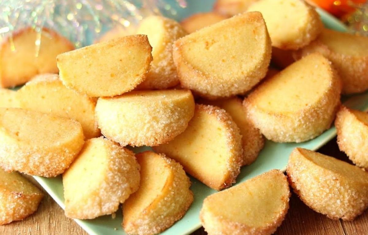 Печиво Мандаринові дольки