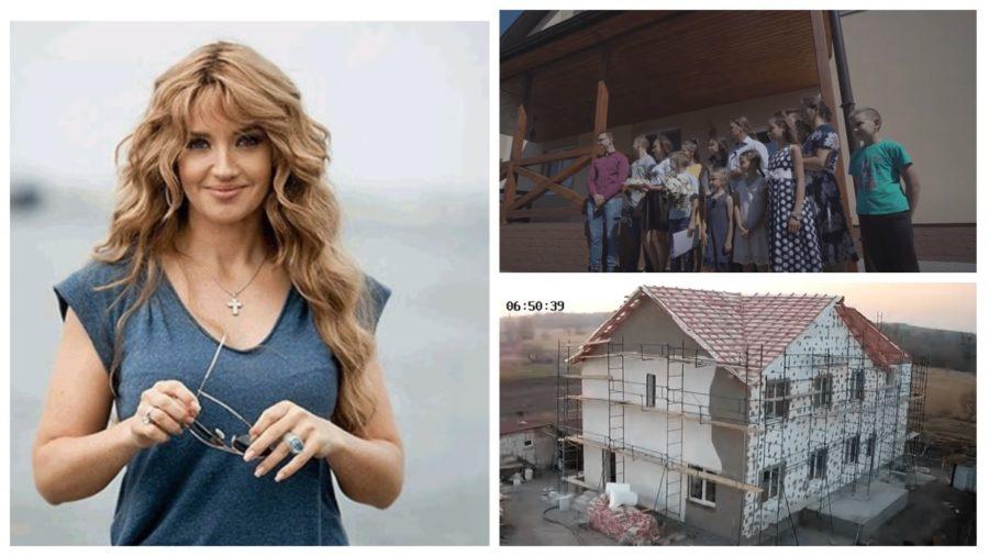 Оксана Марченко побудувала будинок сім'ї