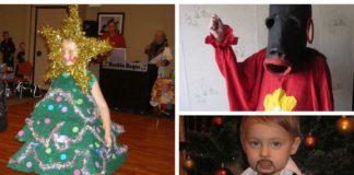 Кумедні новорічні фото дітей