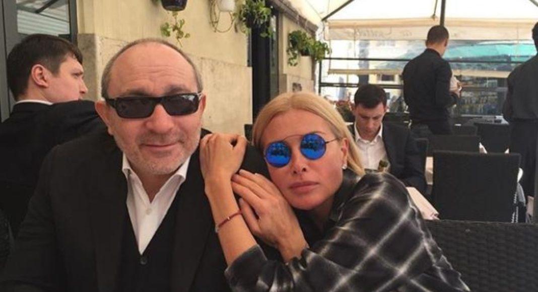 Геннадій Кернес з дружиною