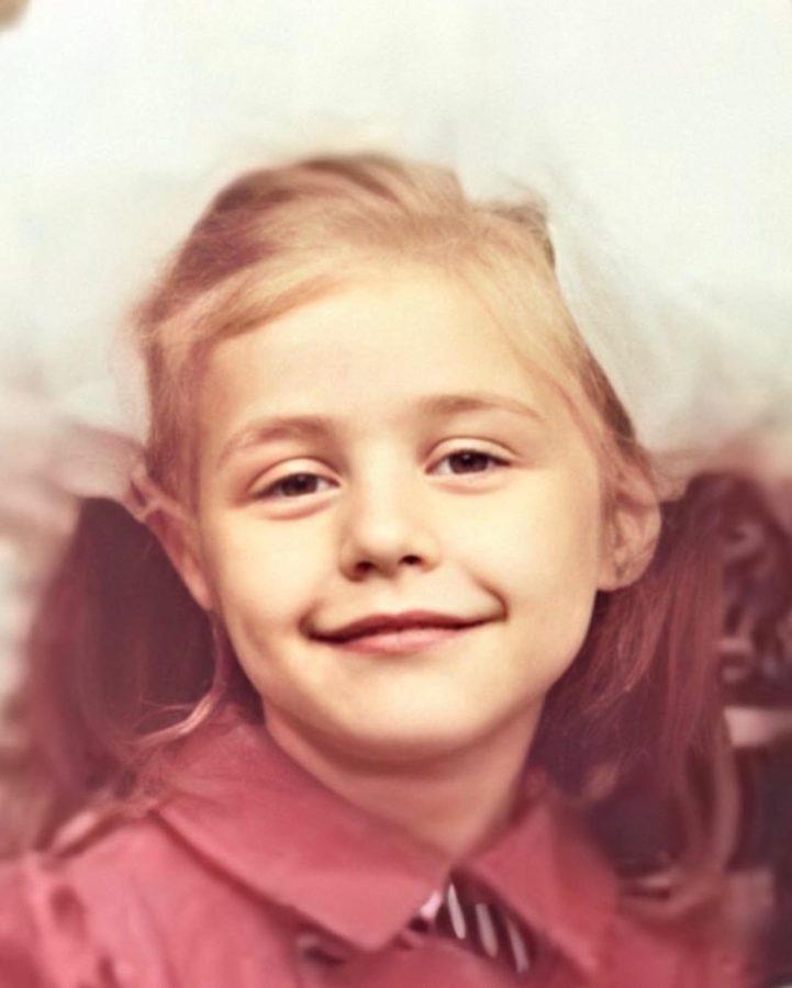 Тіна Кароль в дитинстві