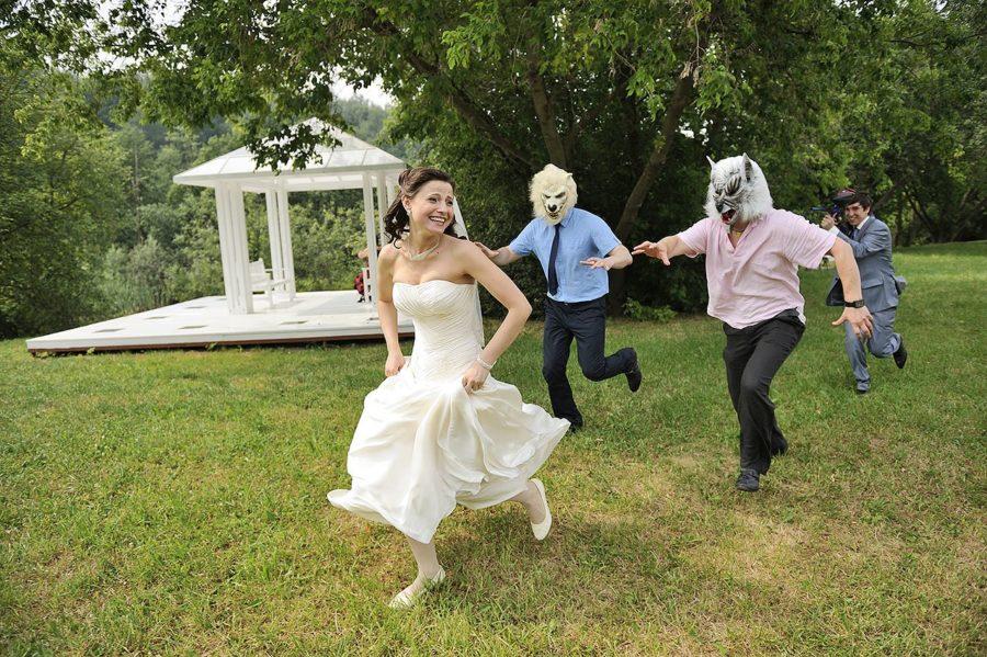 Топ курйозних фото з весілля - смішно до болю