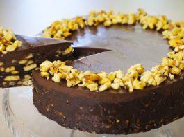 Шоколадний торт без випічки рецепт
