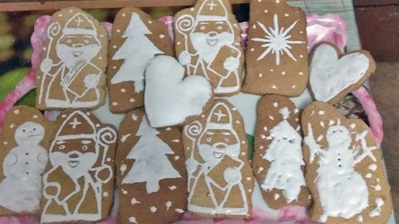 Печиво Миколайчики до свята