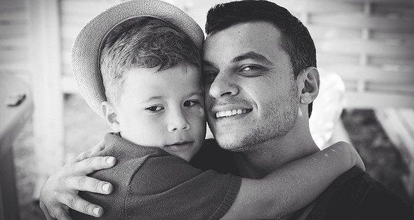 Олександр Павлік з сином
