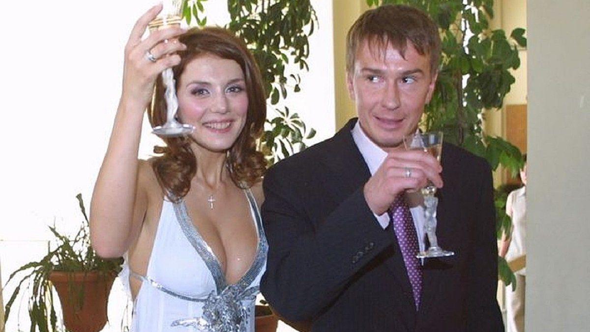 Анна Сєдокова з першим чоловіком