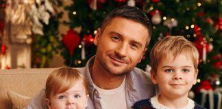 Сергій разом з дітьми