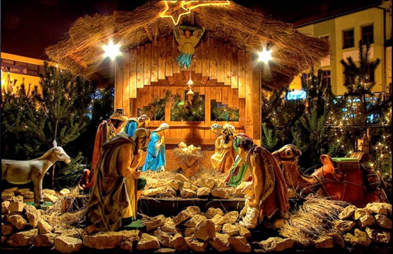 Різдвяний вертеп як частина святкування Різдва