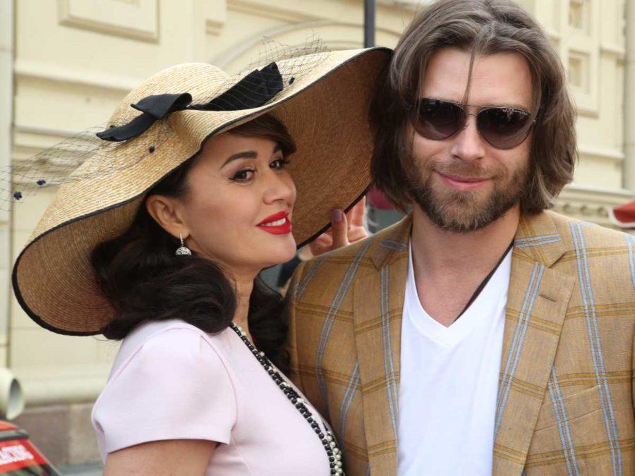 Анастасія Заворотнюк у перші роки шлюбу з Петром Чернишовим