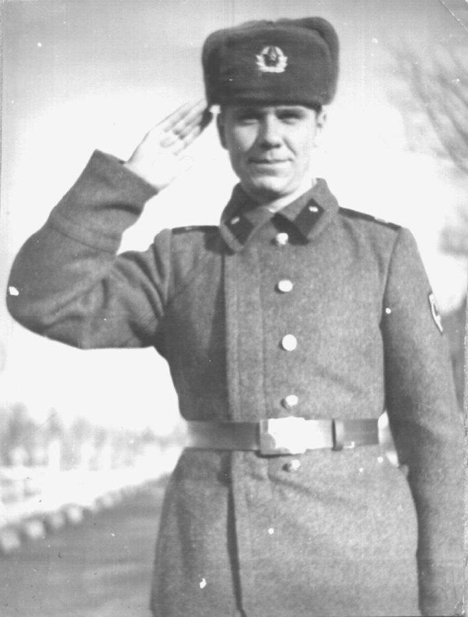 Павло Зібров в армії