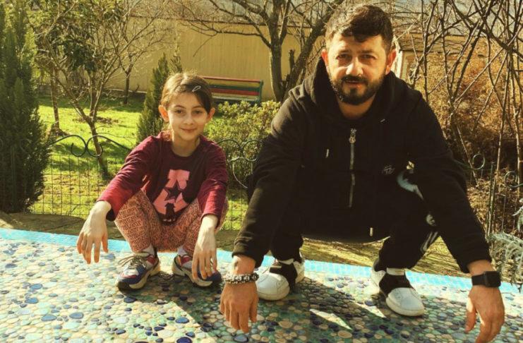 Михайло Галустян і донька Естелла