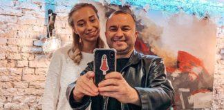 Віктор Павлік з дружиною