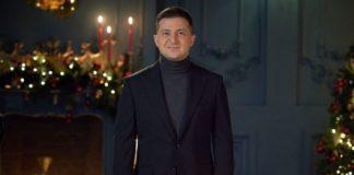 Володимир Зеленський привітав українців з Новим роком