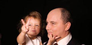 Юрій Ткач з донькою