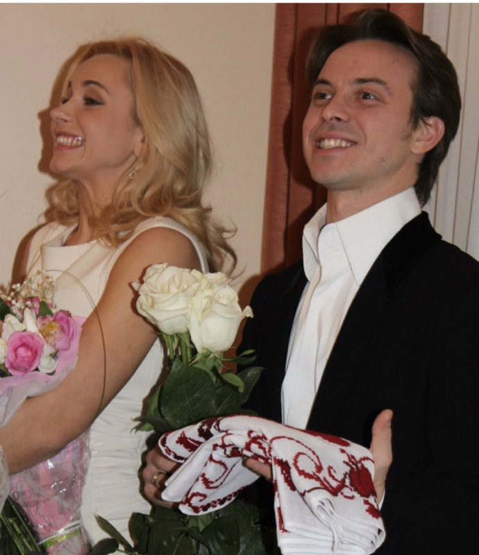 Весільне фото Лілії та Андрія
