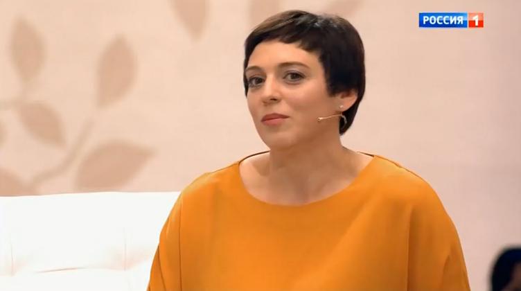 Неллі Уварова на ток-шоу