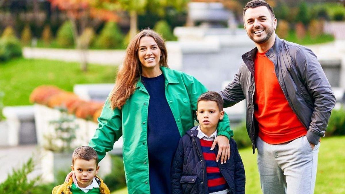 Дружина Григорія Решетника показала особливе фото дітей