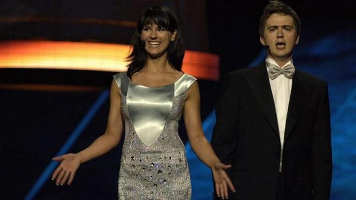 Маша Єфросиніна на Євробаченні-2005