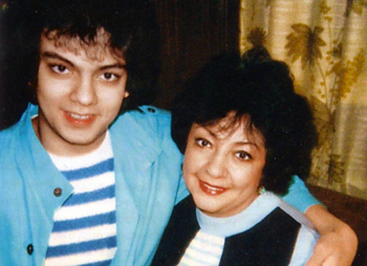 Філіп Кіркоров з мамою