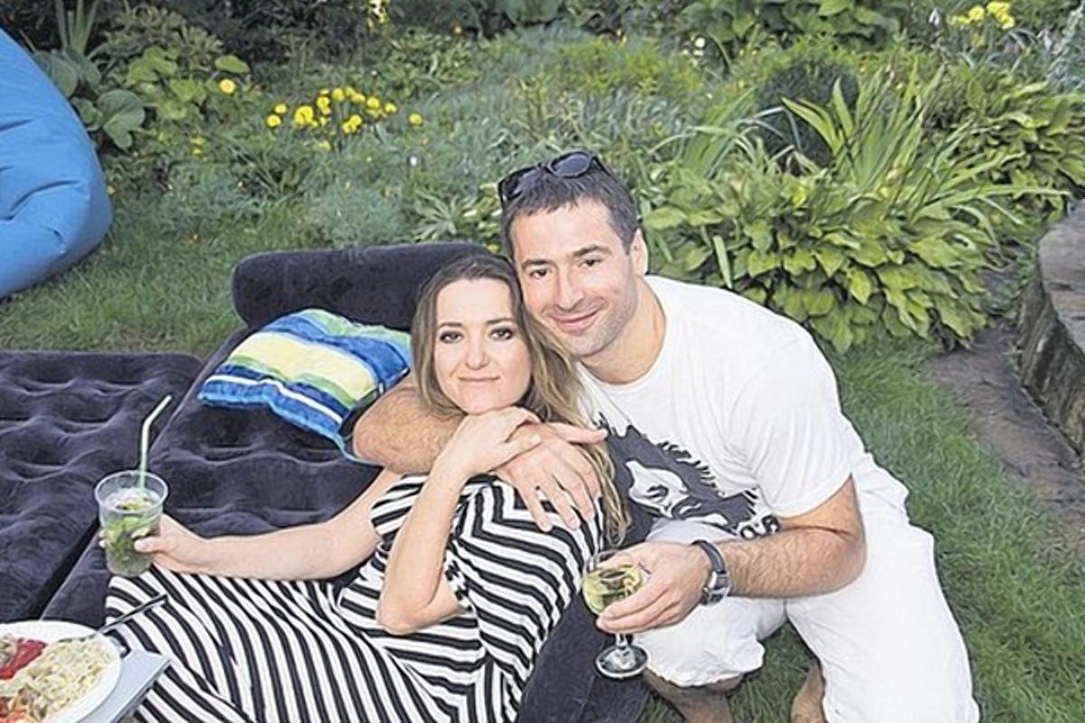 Наталія Могилевська з Єгором Долініним