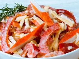 Крабовий салат по-новому