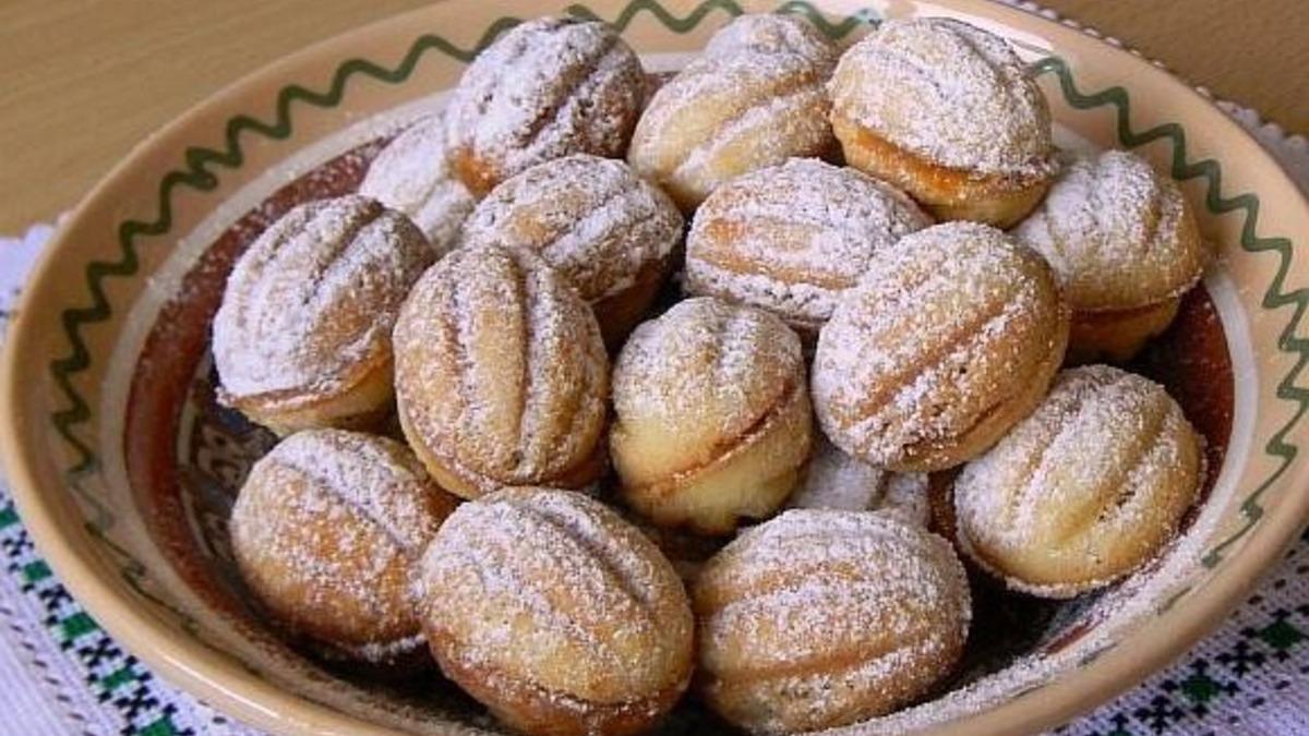 Рецепт печива горішки