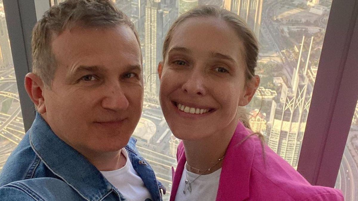 Катя Осадча і Юрій Горбунов насолоджуються відпочинком у сонячному Дубаї