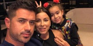 Ані Лорак з донькою та екс-чоловіком