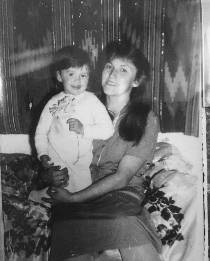 Надія Мейхер з мамою