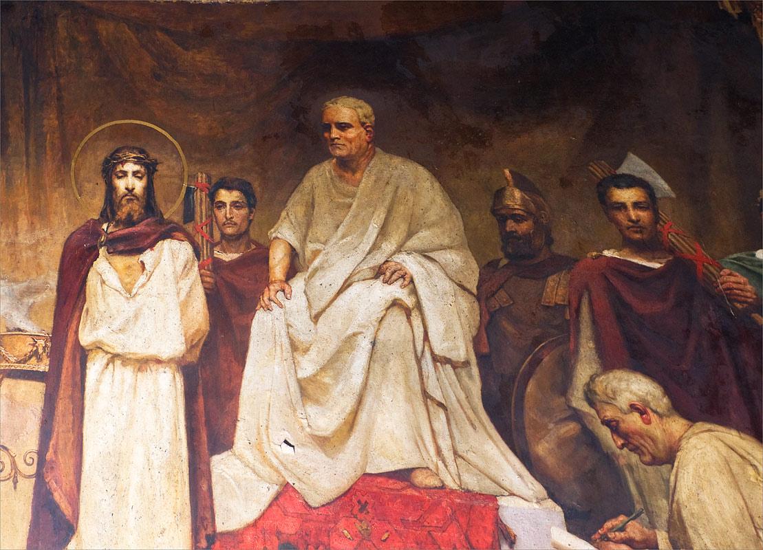 Понтій Пілат, від рук якого загинув Ісус