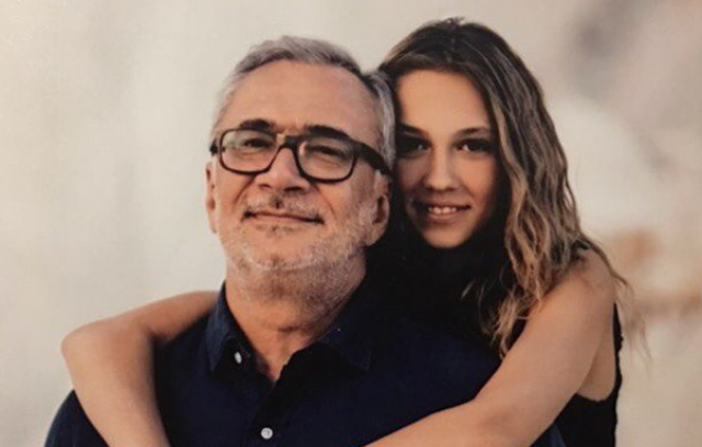 Костянтин Меладзе та молодша донька Лія