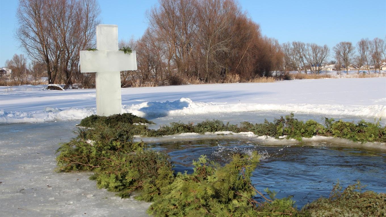 Традиційний хрест на Водохреще
