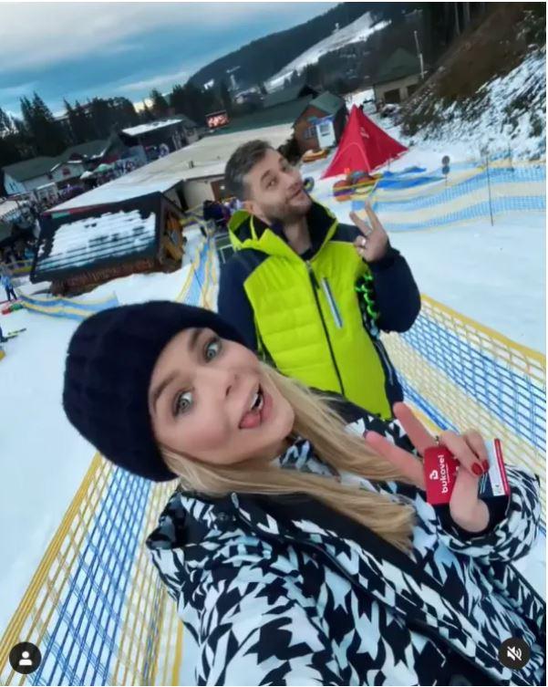 Аліна Гросу з Романом Полянським