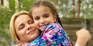 Лілія Ребрик та донька Діана