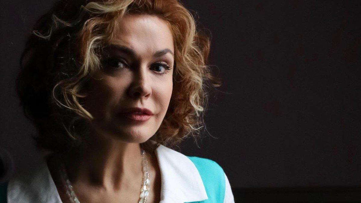 Ольга Сумська продемонструвала, як озвучує героїню турецької гостросюжетної драми