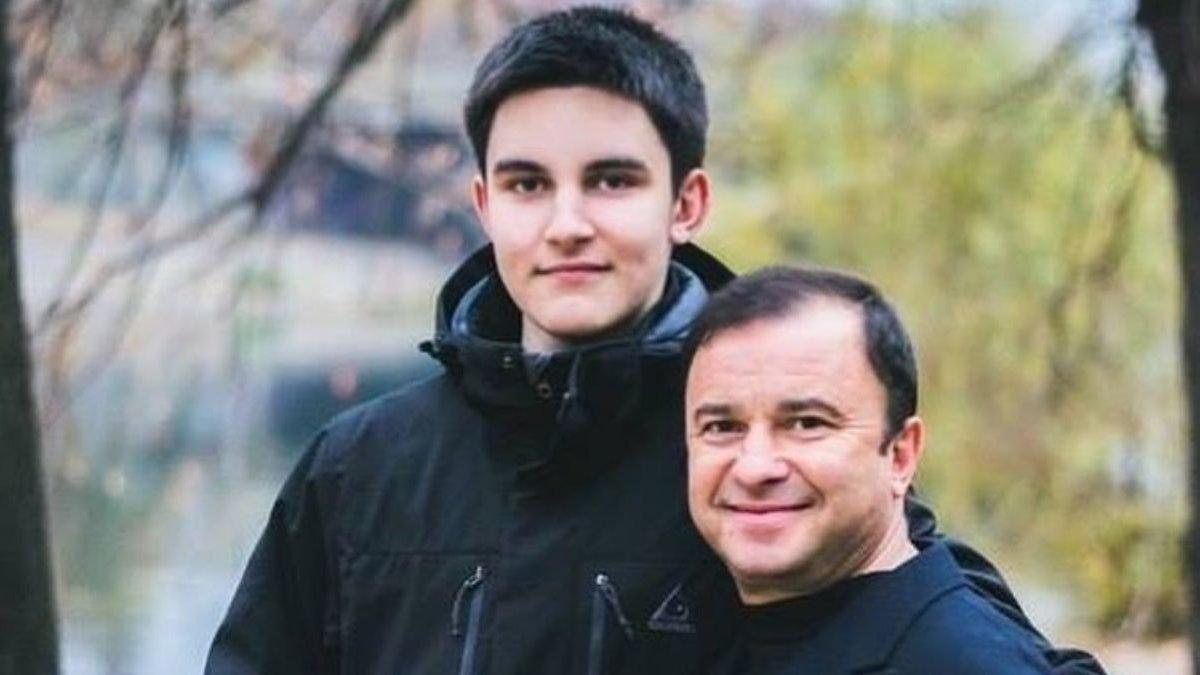Віктор Павлік з покійним сином