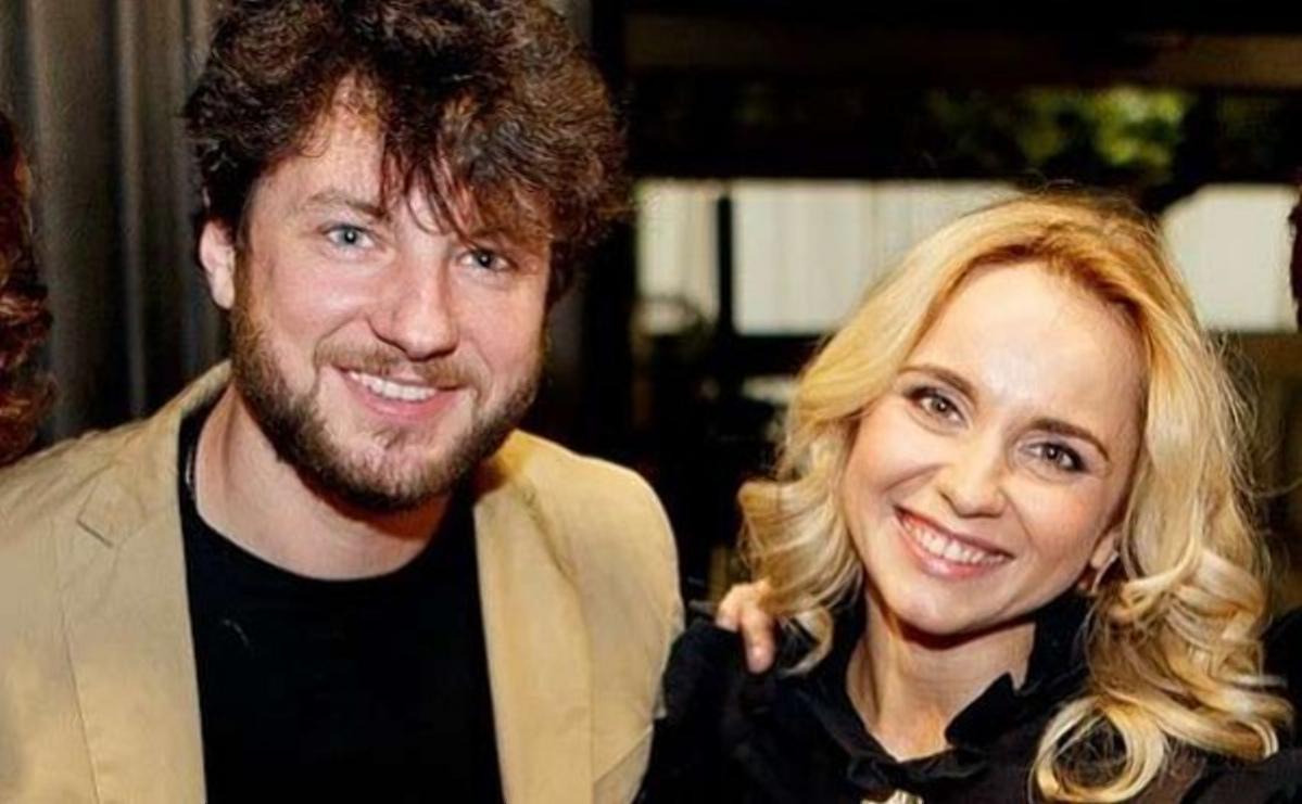 Лілія Ребрик з двоюрідним братом