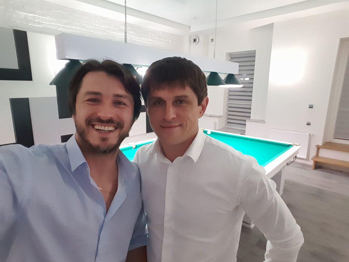 Сергій Притула з братом