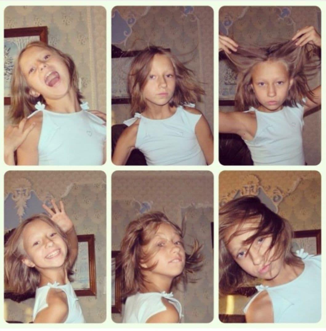 Катерина Репяхова показала дитячі знімки