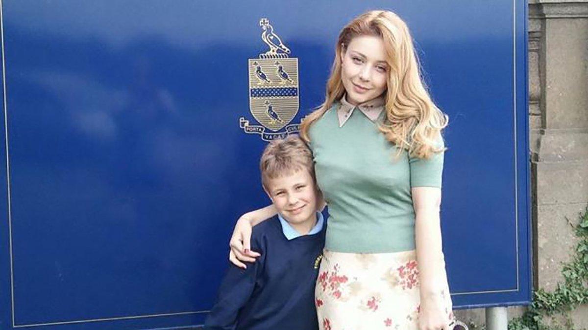 Тіна Кароль разом з маленьким сином.