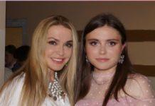 Ольга Сумська с молодшою донькою