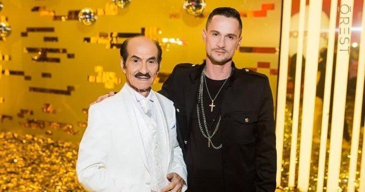 Григорій Чапкіс разом сином