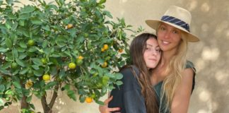 Оля Полякова з донькою
