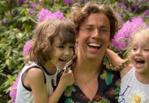 Максим Галкін з дітьми