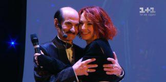 Григорій Чапкіс з партнеркою по танцю